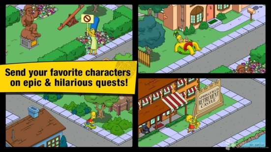 Симпсоны спрингфилд взлом на пончики на андроид