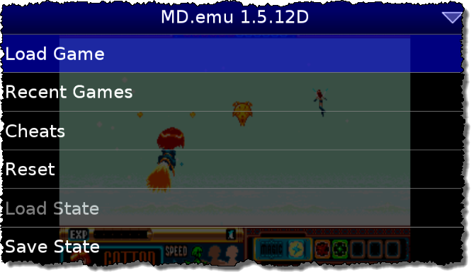 Gensoid: Emulator Sega Mega Drive per Android